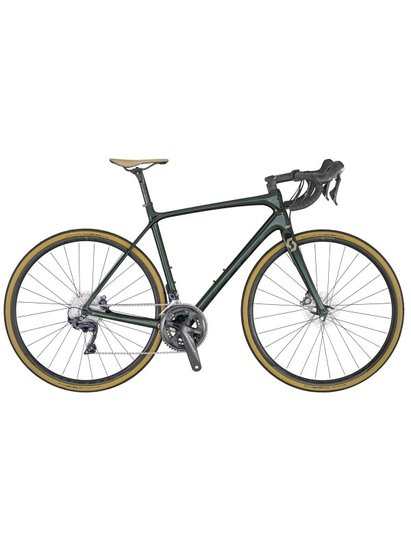 CESTNO KOLO SCOTT ADDICT 10 DISC GREEN 2020